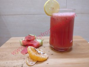 Watermelon Tangerine (Orange) Cooler