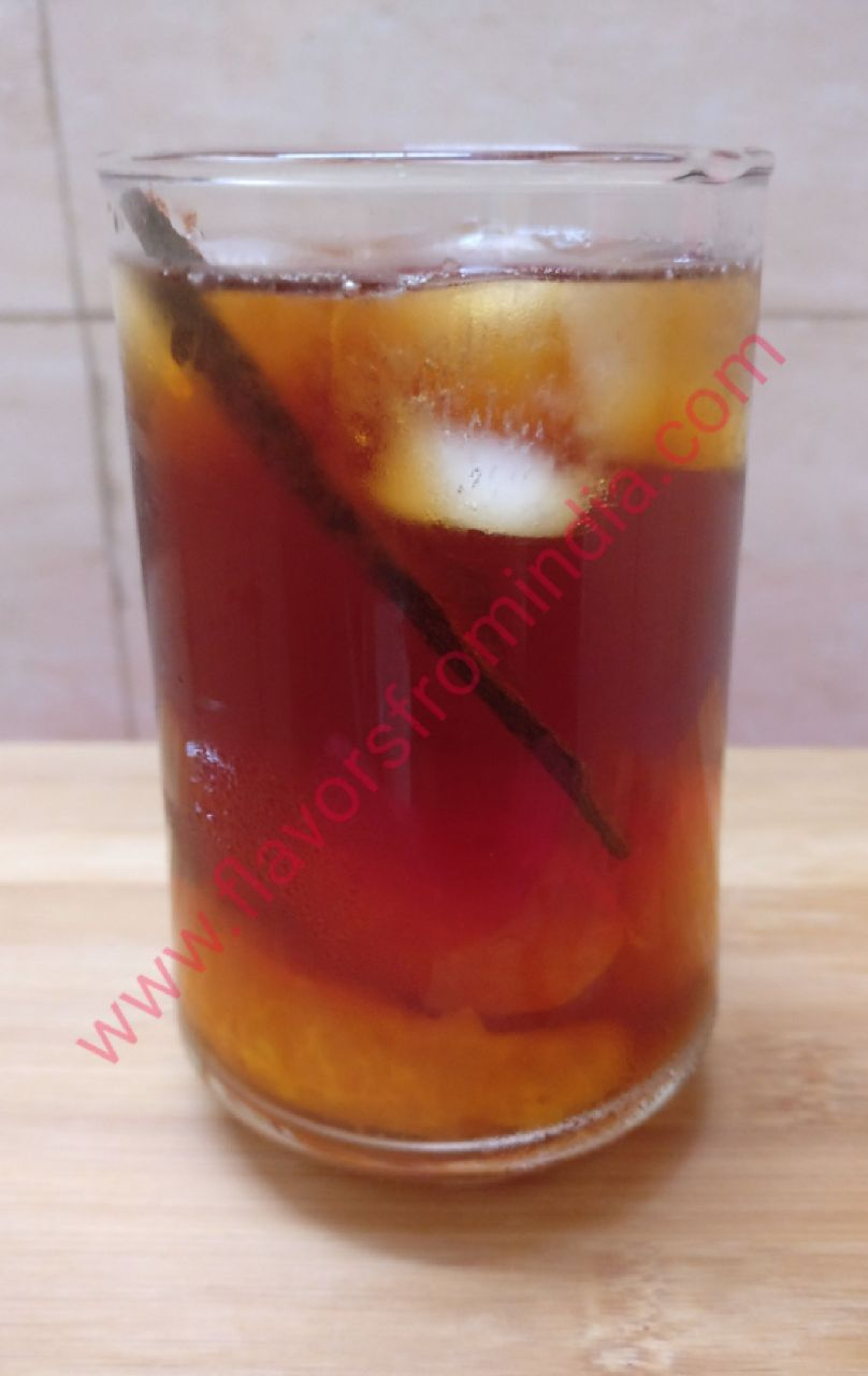 Tangerine Cinnamon Iced Tea